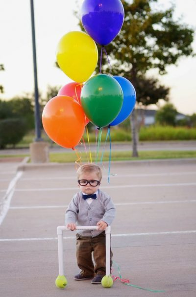 OMG! He's so CUTE! | Disney UP Halloween Costume Idea for Toddler Boys