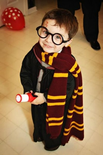 He's SO CUTE! OMG! | Harry Potter Halloween Costume Idea for Boy Toddlers